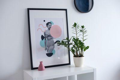 Дизайнерские постеры для дизайна интерьера